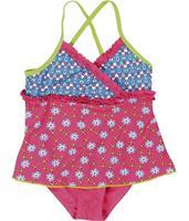 Playshoes UV-bescherming badpak bloemen roze - Roze/lichtroze - Meisjes