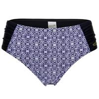 Damella Blue Mosaic Bikini Tai Brief