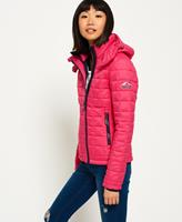 Superdry roze winterjas