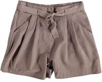 Broadway dark taupe hoge taille short