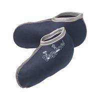 Playshoes fleecesokken junior blauw 8/19