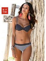 S.Oliver Beachwear LM s.Oliver Beachwear Beugelbikinitop »Avni«, met gerimpelde cups