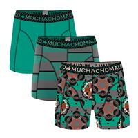 muchachomalo Jongens 3-pack Boxershorts Like based life