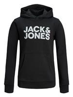 Jack & Jones Junior Jack & Jones Junior Logo Hoodie JJECorp Logo Sweat Hood SS19 NOOS JR 12152841
