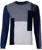 Move By Digel Pullover - Slim Fit - Blauw