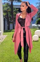 exclusivepremium Annabelle Waterfall Jacket Dusty Pink