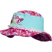 Playshoes UV-bescherming zonnehoed Flamingo - Turquoise - - Meisjes
