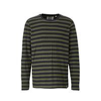 Anerkjendt gestreepte sweater blauw/groen