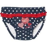 Playshoes UV-bescherming luierbroek luierbroek harten aan knop marine - Blauw - - Meisjes