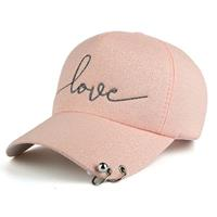 lookinggoodtoday Baseball Cap Love Pink