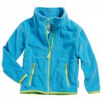 Playshoes Fleece jack aqua blauw - Blauw - - Jongen/Meisjes