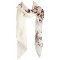 dept Shawl - Boho Crinkle - Off White