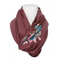 dept shawl - mauve