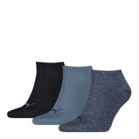 Puma Invisibe Sokken 3-Pack Denim Blue-35-38