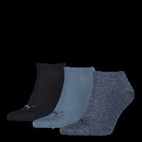 Puma Invisibe Sokken 3-Pack Denim Blue-39-42