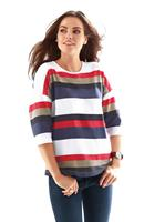 Your look for less! Shirt, rood gestreept