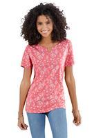 Your look for less! Shirt, koraalrood