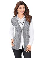 Your look for less! Mouwloos vest, grijs