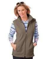 Your look for less! Fleecevest, taupe