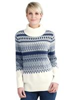 Your look for less! Pullover, ecru gedessineerd