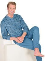 Your look for less! Pyjama, blauw gedessineerd