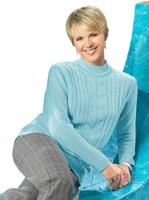 Your look for less! Pullover, aqua