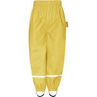 Playshoes gevoerde regenbroek geel