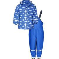 Playshoes Regen-set haai blauw - Blauw - Jongen