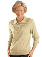Your look for less! Polopullover, naturel
