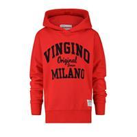 Vingino Sweater - Rood - Katoen/elasthan