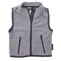 Playshoes bodywarmer fleece junior grijs