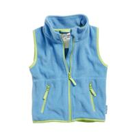 Playshoes bodywarmer fleece junior blauw/groen 8