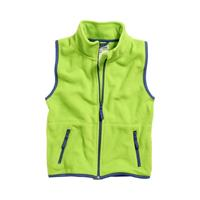 Playshoes bodywarmer fleece junior groen/donkerblauw 6
