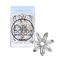 Invisibobble Nano - Styling haarbandje - Crystal Clear-Zonder kleur