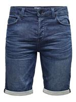 ONLY & SONS Onsply Regular Blauwe Denim Short Heren Blauw