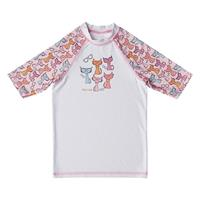 Slipstop UV shirt Cats wit/roze meisjes
