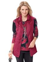 Your look for less! Dames Gilet rood