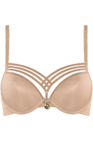 Marlies Dekkers dame de paris push up bh wired padded sand and golden lurex