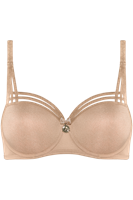Marlies Dekkers dame de paris balconette bh wired padded sand and golden lurex