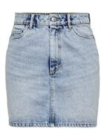 Only A-lijn Denim Rok Dames Blauw