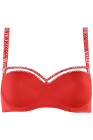 Marlies Dekkers space odyssey balconette bh wired padded fiery red