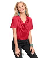 Your look for less! Shirt, rood