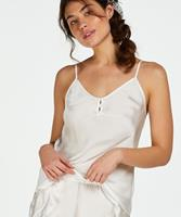Hunkemöller Cami satin Button Wit