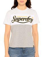Superdry T-shirt in wit voor Dames