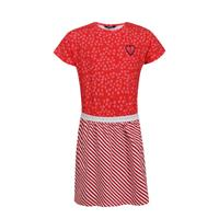Little Miss Juliette sweatjurk rood/wit