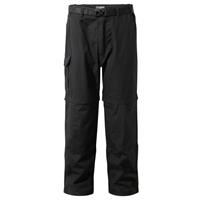 Craghoppers afritsbroek Kiwi Smart Dry Black L heren zwart