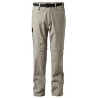 Craghoppers afritsbroek Kiwi Zip Off Beach S heren beige