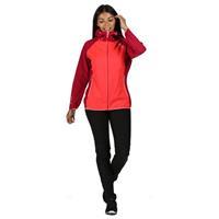 Regatta Imber III dames jas waterbestendig rood/roze