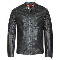 Guess Leren Jas  QUILTED ECO LEATHER JACKET