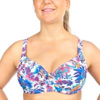 Sophia Floral Underwire Bikini Bra